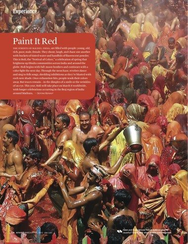 """The Holi """"Festival of Colors"""" brightens up Hindu communities across India and around the globe"""