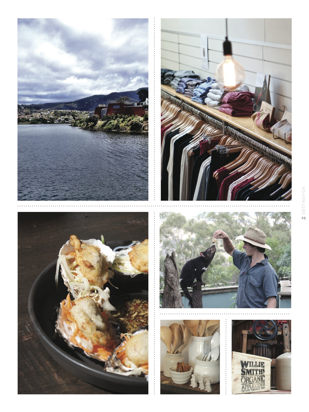 Hobart's creative class is upcycling, crafting and curing their city into a bastion of sustainable fashion, design and cuisine
